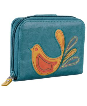 Fossil Wallet, Candy Zip Multifunction