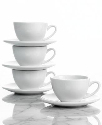 Konitz Drinkware, Set of 4 Coffee Bar Cafe Creme Cups