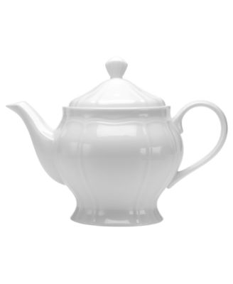 Mikasa Dinnerware, Antique White Teapot