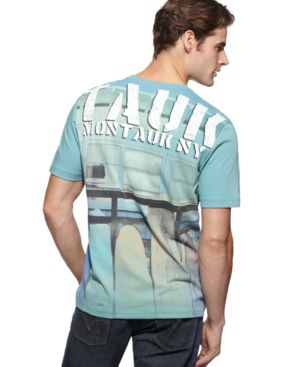 Nautica T Shirt, Montauk Graphic