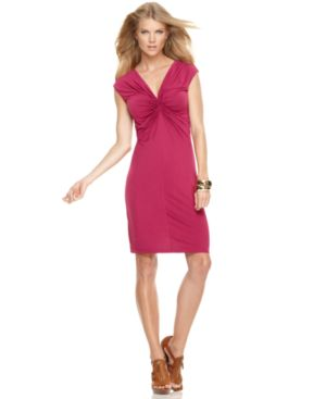 MICHAEL Michael Kors Dress, Cap Sleeve Jersey