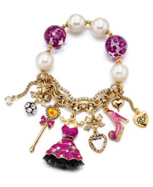 Betsey Johnson Bracelet, Varsity Crush Stretch