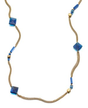 Kenneth Cole New York Necklace, Long Blue