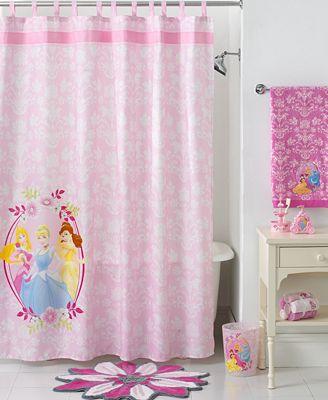 Disney bath disney princesses collection bathroom accessories bed