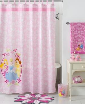 Disney Bath Accessories, Disney Princesses Shower Curtain