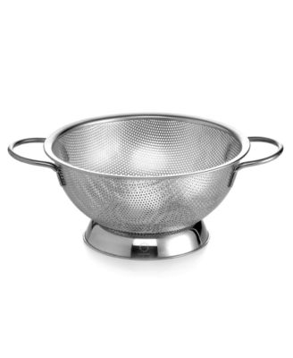 Martha Stewart Collection Stainless Steel Colander, 2.5 Qt.