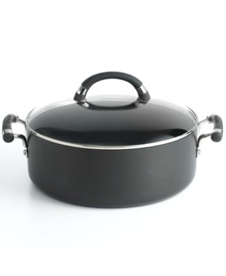 Circulon Covered Wide Stockpot, 7.5 Qt. Espree