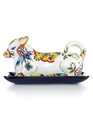 Tabletops Unlimited Dinnerware, Bocca Cow Butter Dish