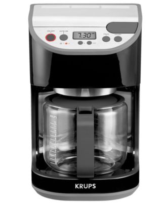 Krups Coffee Maker Km1000 Manual : Krups KM1000 Coffee Maker, Programmable 10 Cup - Coffee, Tea & Espresso - Kitchen - Macy's