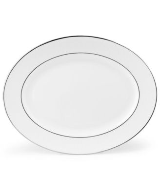 Lenox Hannah Platinum Medium Oval Platter