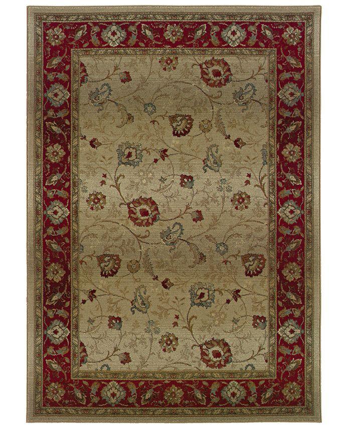 """Oriental Weavers - Area Rug, Genesis 521J 5'3"""" X 7'6"""""""