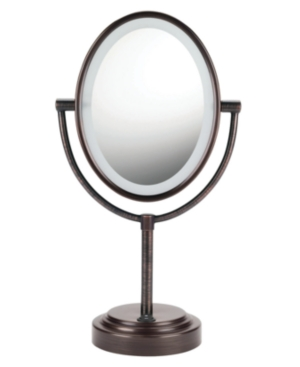 Conair, 7x Magnified Lighted Makeup Mirror, Bronze