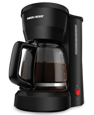 Black & Decker DCM600 Coffee Maker, 5 Cup