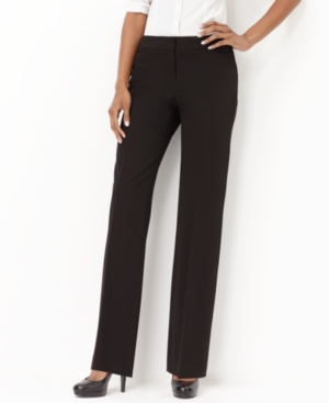 Alfani Pants, Straight Leg