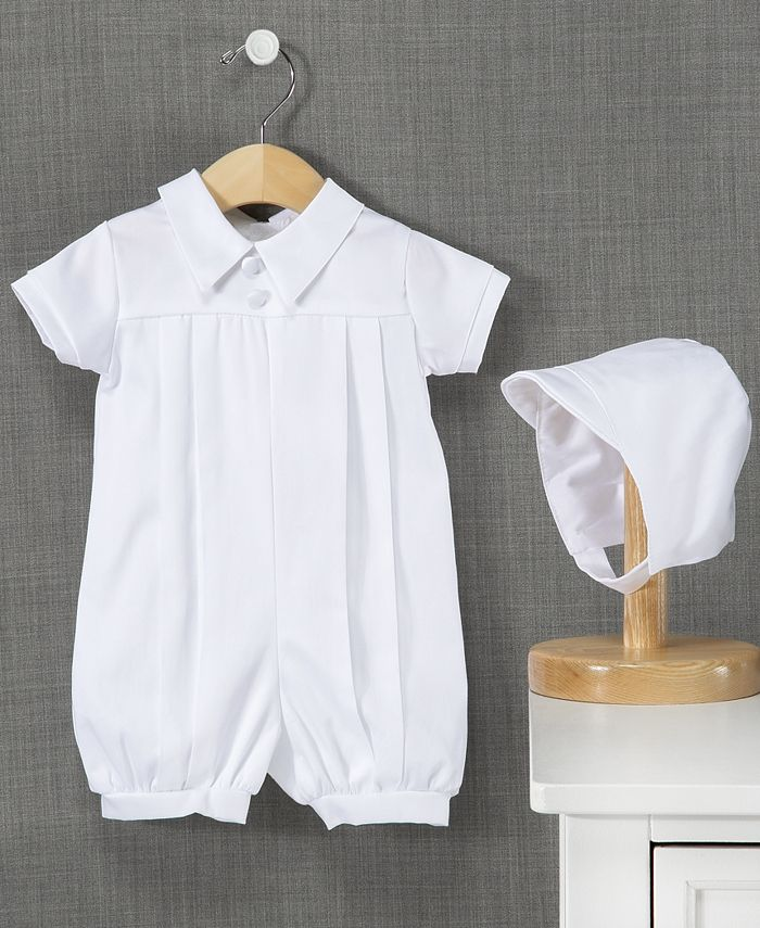 Lauren Madison - Outfit, Baby Boys Christening Romper