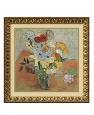 Amanti Art Wall Art, Roses and Anemones Framed Art Print by Vincent van Gogh