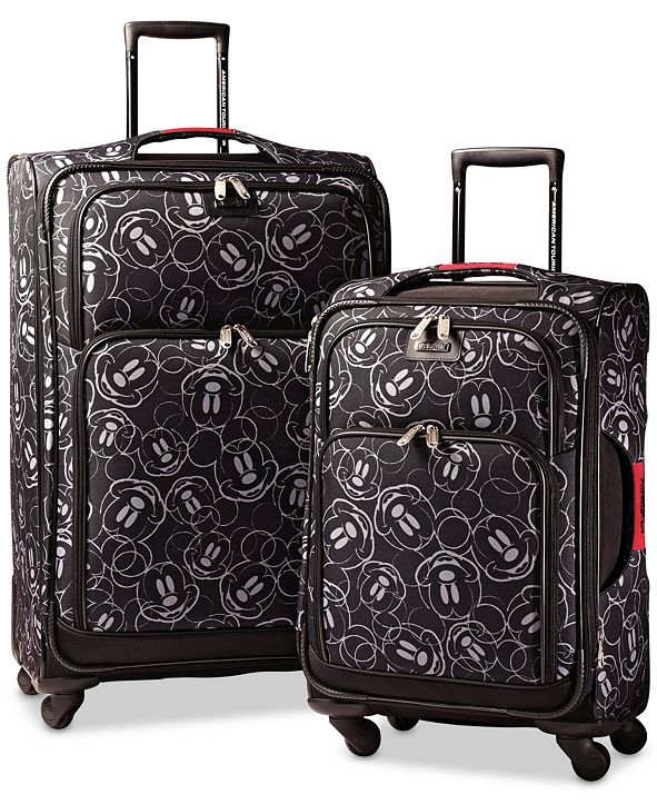 American Tourister Mickey Mouse Multi-Face Spinner Luggage by American Tourister