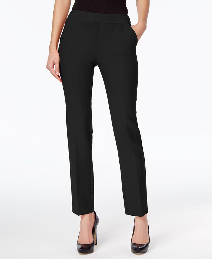 INC International Concepts - Petite Straight-Leg Pants