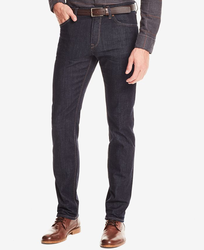 Hugo Boss - Men's Regular/Classic-Fit Dark Wash Jeans