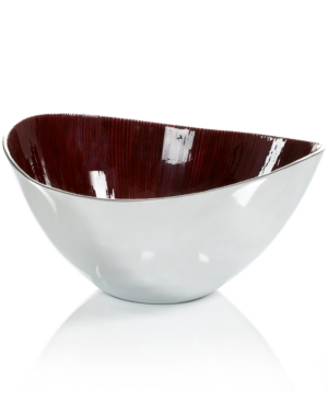 Simply Designz Serveware, Red Salad Bowl