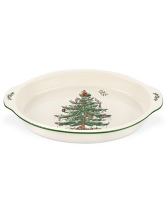 Christmas Tree Au Gratin Dish