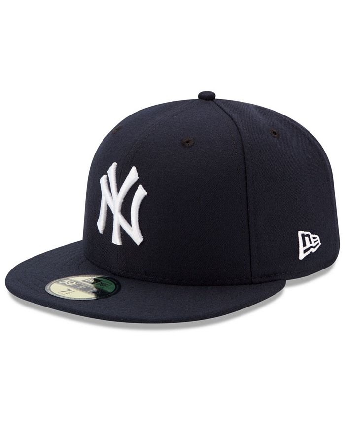 New Era New York Yankees Authentic Collection 59fifty Cap Reviews Sports Fan Shop By Lids Men Macy S