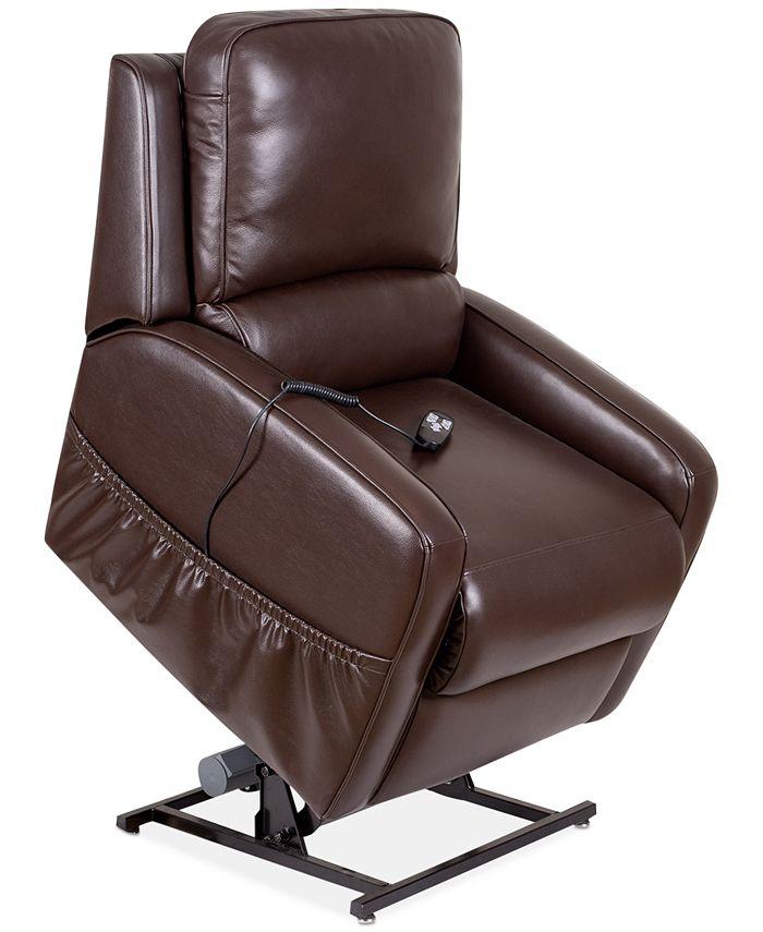 Furniture - Karwin Leather Power Lift Chair