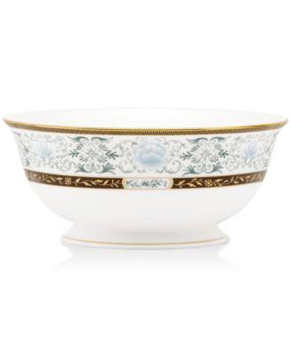 Marchesa by Lenox Dinnerware, Palatial Garden Serving Bowl