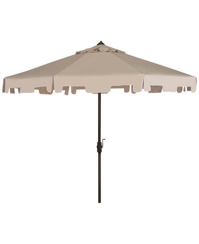 Safavieh - Karian Outdoor 9' Umbrella, Quick Ship