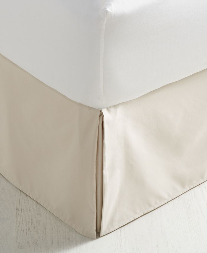 Charter Club - Damask Pima Cotton 550-Thread Count California King Bedskirt