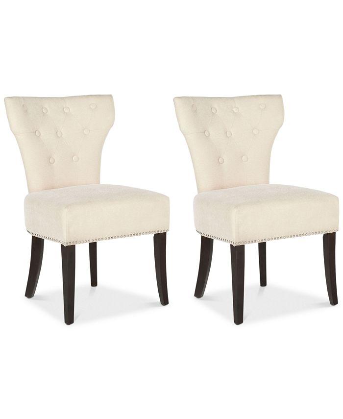 Safavieh - Brydan Set of 2 Side Chairs, Quick Ship