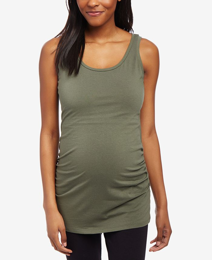 Motherhood Maternity - Maternity Ruched Tank Top