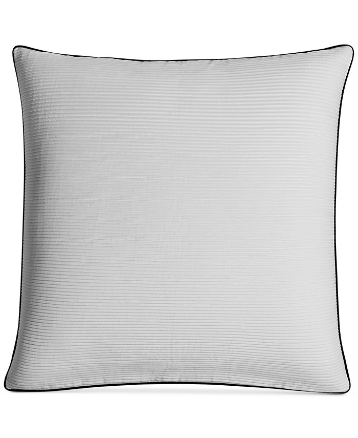 "Hotel Collection - Greek Key 20"" Square Decorative Pillow"