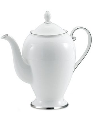 Mikasa Dinnerware, Cameo Platinum Coffee Pot