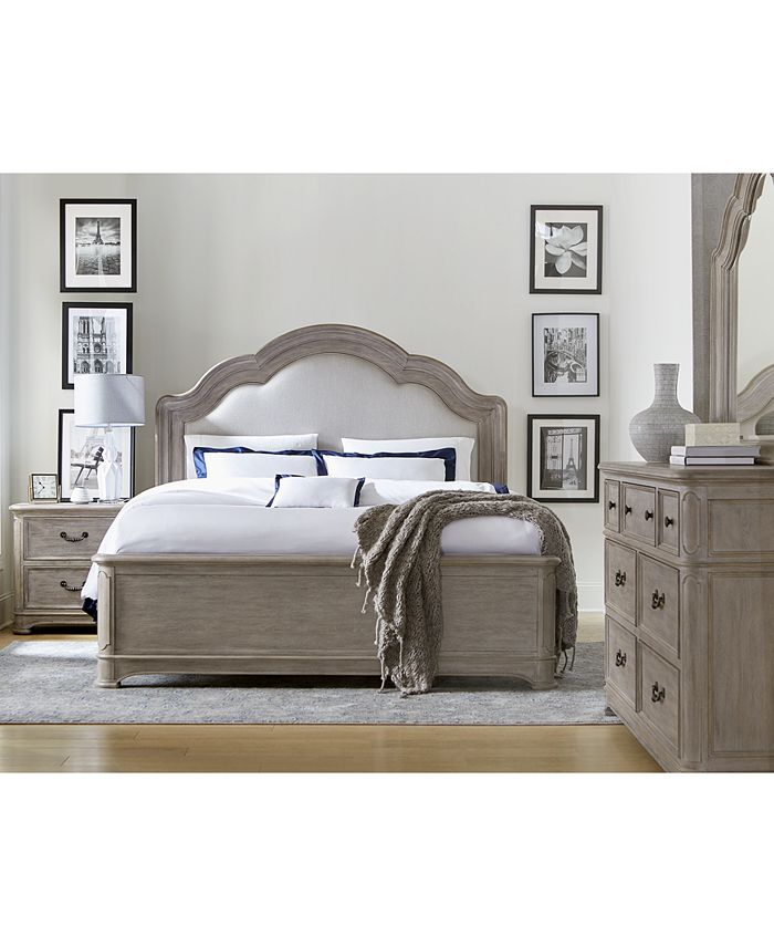 Furniture - Elina Bedroom  Set, 3-Pc. (Queen Bed, Dresser & Nightstand), Only at Macy's