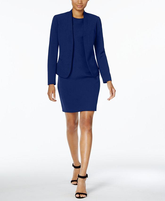 Anne Klein - Shawl-Collar Dress Suit