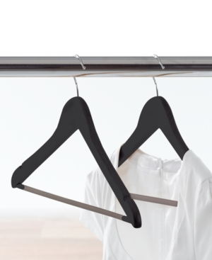 Neatfreak Clothes Hangers, 14 Pack Dark Wood