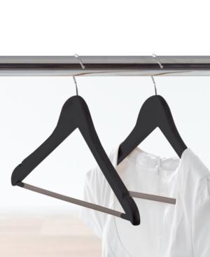 Neatfreak Clothes Hangers, 14 Pack Dark Wood