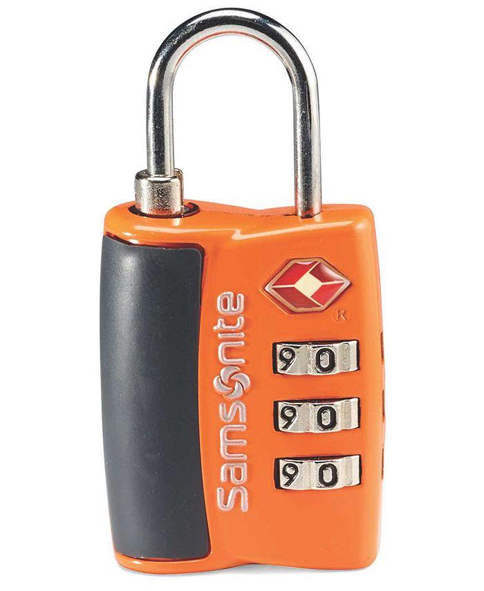Samsonite - Travel Sentry 3-Dial Combo Travel Lock
