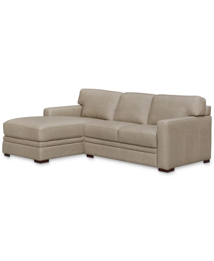 Furniture - Avenell 2-Pc. Sectional with Loveseat & Chaise, Only at Macy's