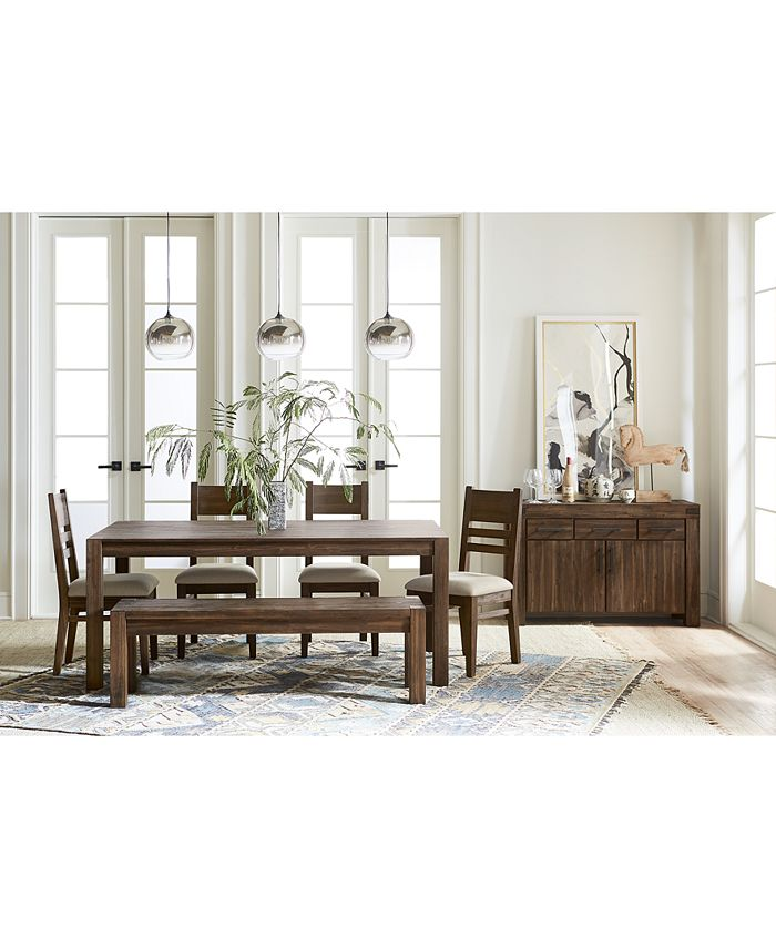 Furniture Avondale Large Dining Furniture Collection Created For Macy S Reviews Furniture Macy S