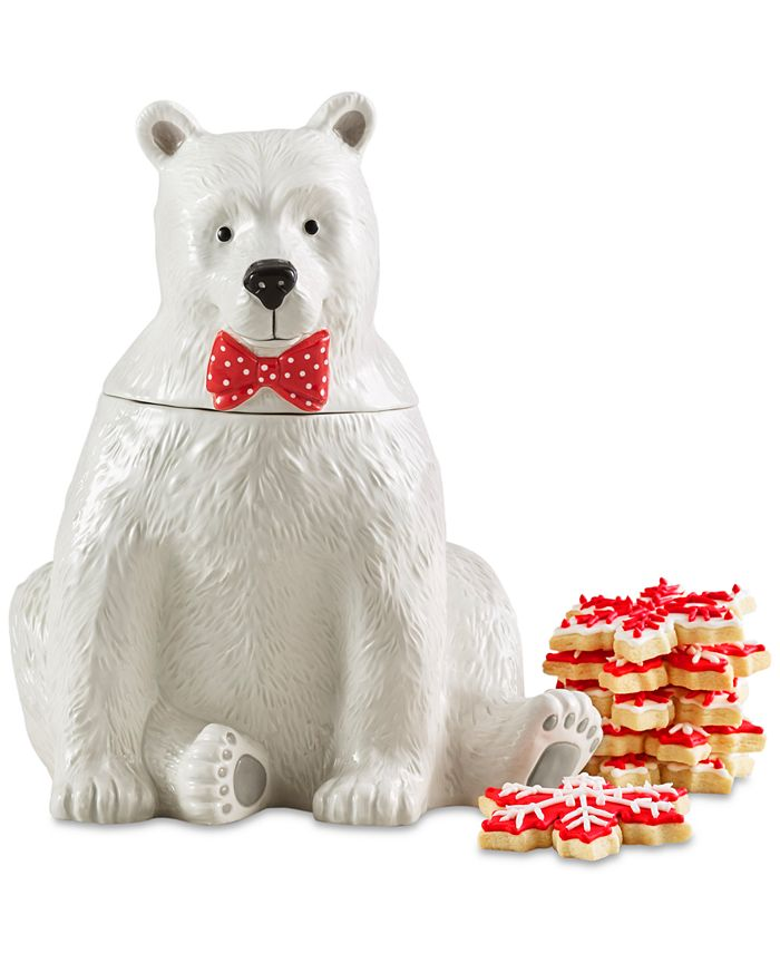 Martha Stewart Collection - Polar Bear Cookie Jar