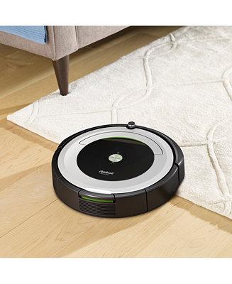Irobot Roomba 695 Wi Fi Robotic Vacuum Reviews Macy S