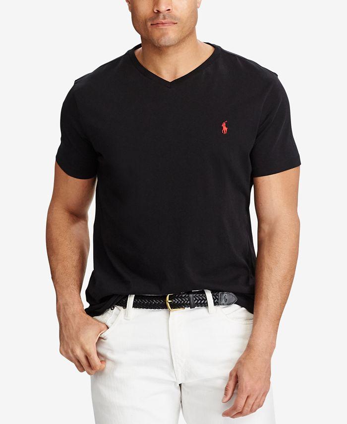 Men's Big & Tall Classic Fit V-Neck T-Shirt