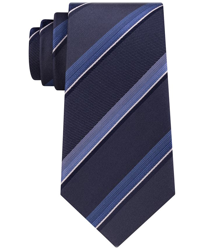 Kenneth Cole Reaction - Men's Spectrum Stripe Silk Tie