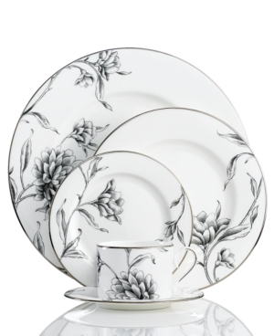 Marchesa by Lenox Dinnerware, Floral Illustrations 5 Piece Place Setting