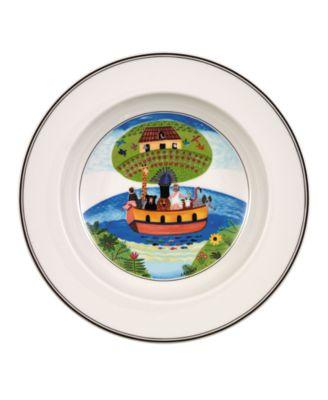 Villeroy & Boch Dinnerware, Design Naif Rim Soup Bowl Noah's Ark