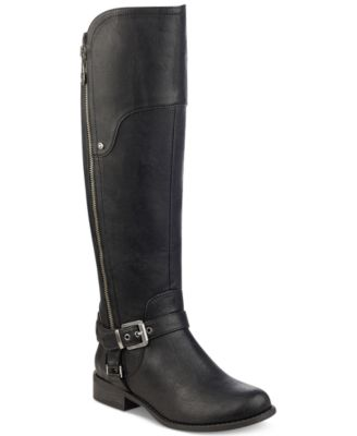 g by guess boots black
