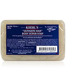 Kiehl's Since 1851 Ultimate Man Body Scrub Soap, 7 oz.