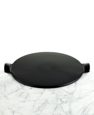 "Emile Henry BBQ Pizza Stone, 14.5 "" Flame"